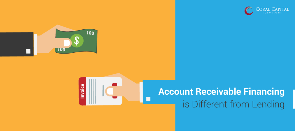 How is Accounts Receivable Lending different form Traditional Lending